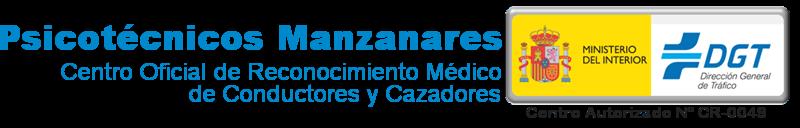 PSICOTÉCNICOS MANZANARES, CONDUCTORES Y CAZADORES